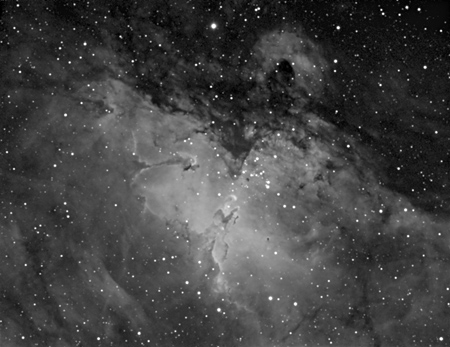 Eagle Nebula (M 16) - Ha Filter