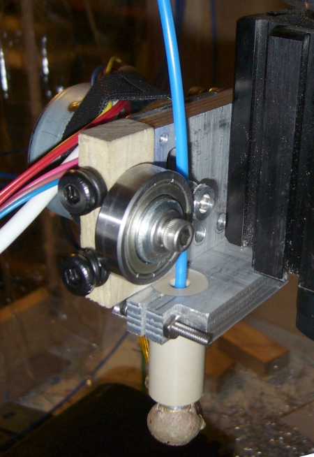RepRap Style Plastic Extruder